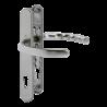 Klamko-klamka Hoppe Luxembourg 92/8 srebrny stalowy F9