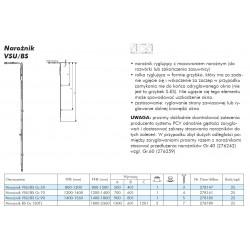 Narożnik VSU/BS GR.50 Siegenia Favorit ( 800-1200 ) - ID 278147 FEUL2070
