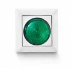 Lampka kontrolna zielona...