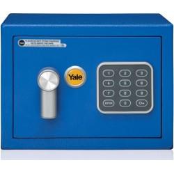 Sejf podstawowy YALE YSV/170/DB1/B mini niebieski
