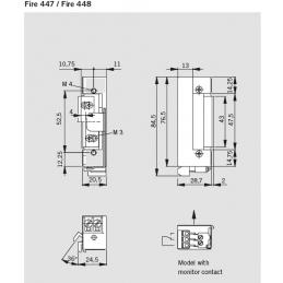 Elektrozaczep Dorma 447...