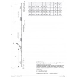 Zasuwnica BM RS środkowa Romb Złotów